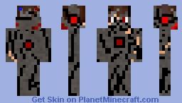 Robot Skin (Red Version) Minecraft Skin