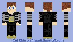 Mojang Boy Minecraft Skin