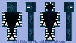 Monster of the Ocean Depths - Minecon's Mob A Minecraft Skin