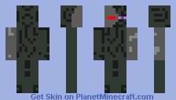 cyborg enderman Minecraft Skin