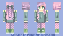 a colorful introduction - first skin Minecraft Skin
