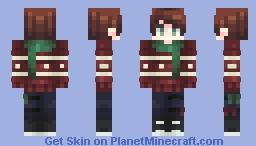 Ribbons Hung Wrong Minecraft Skin
