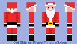 Santa! Minecraft Skin