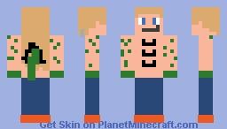 Human Dragon Minecraft Skin