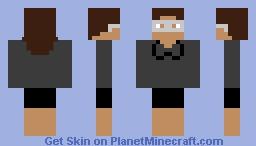 Ellen Minecraft Skin
