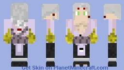 Kimimaro Power Chakra in Hands Minecraft Skin