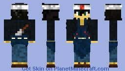 Ramen Merchant Minecraft Skin