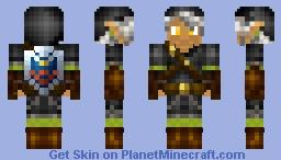 Dark Link Zerbeross Style Minecraft Skin