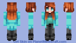🎔𝔻𝑒𝓏𝒾𝒾🎔 Beverly- Fan Skin Minecraft Skin