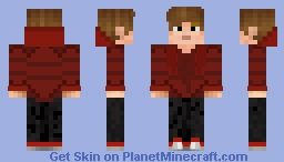 Hermes (Red Jacket) Minecraft Skin