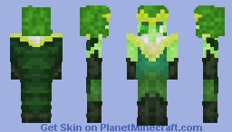Emerald (Steven Universe Skin) Minecraft Skin