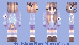Aquarelles // Happy birthdaay [Fanskin?] Minecraft Skin