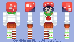 Christmas Mushroom [Request] | Minto~ Minecraft Skin