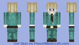 Estonia- Hetalia (Sorry for not posting I stg also it looks kinda bad not in 3d) Minecraft Skin