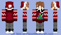 Christmas Cheer // ღ𝓟𝓮𝓪ღ Minecraft Skin