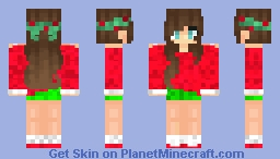 Ramen Christmas Minecraft Skin