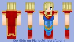 Supergirl ( Injustice 2 ) Minecraft Skin