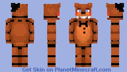 Toy Freddy - FNaF 2 Minecraft Skin