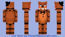 Toy Freddy - FNaF 2 Minecraft Skin
