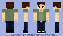 [Code Lyoko] Ulrich Minecraft Skin
