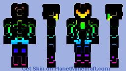 Rainbow Robot Minecraft Skin