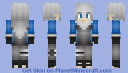 Yuki Clan Member [Ice Clan] Minecraft Skin