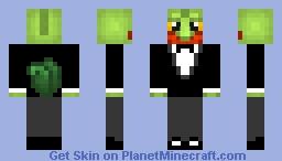Tuxedo Treecko Minecraft Skin