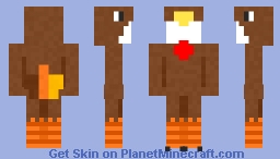 Turkey Onesie Base - Happy Thanksgiving! Minecraft Skin