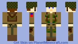 82nd Airborne skin Minecraft