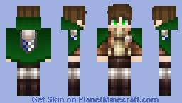 Attack on titan Minecraft Skin