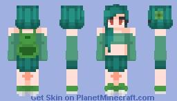 Bulbasaur 001 {Pokemon Gen. 1} Minecraft Skin