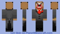 The Mouth of Madness Minecraft Skin