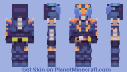 Kamen Rider Cross-Z Minecraft Skin