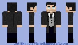 Bruce Wayne | Batman Minecraft Skin