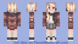 I would like~ (Credits to semantics) Minecraft Skin