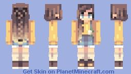 Yumai//Oc revamp Minecraft Skin