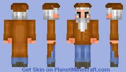 Merchant [Terraria skins by Meo ;3] Minecraft Skin