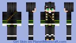 Seraph of the End yuichiro Minecraft Skin