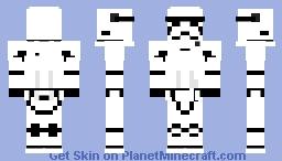 First order stormtrooper Minecraft Skin
