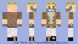 Rich pirate Minecraft Skin