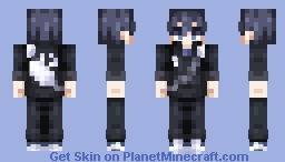 Kageyama Tobio ~ Haikyuu! (Uniform In Desc.!) Minecraft Skin