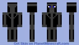 Endo 1-FNaF 1 Minecraft Skin