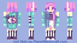E y e  S e e  Y o u | R e d H a i r V e r s I n D e s c Minecraft Skin