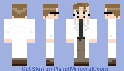 Fiddleford Hadron McGucket (Gravity Falls) Minecraft Skin