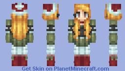 Cold holidays Minecraft Skin