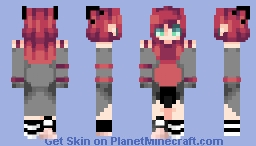 Nope, stay away from me v1. (Requested by Roshiahito) Minecraft Skin