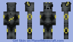 ♠ραρy♠ Umbreon V2 | 50TH Skin Minecraft Skin