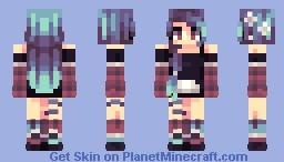 Cold Heart Minecraft Skin