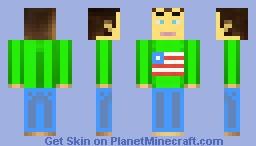 My own skin Minecraft Skin