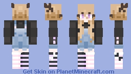 ( ͡° ͜ʖ ͡°) kinky but just not quite.... Minecraft Skin